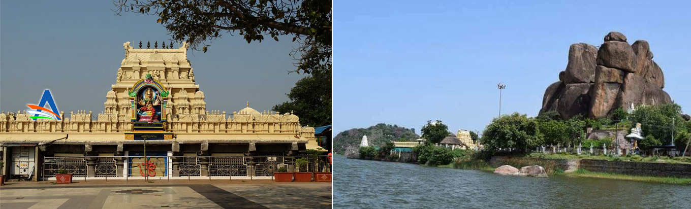 Enjoy the views from the Bhadrakali Temple