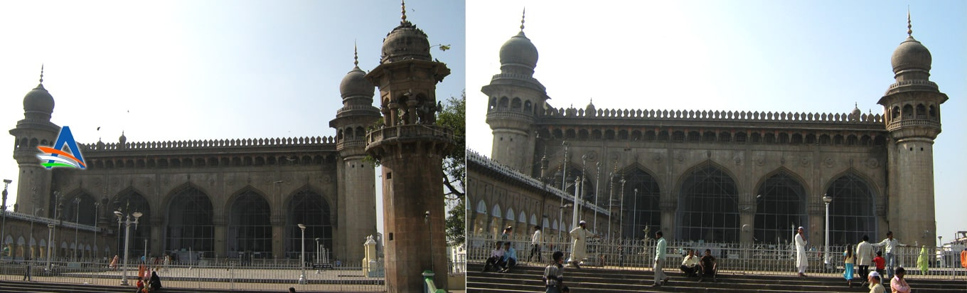 Makka Masjid Pay a visit to one of the oldest mosques of India as well as the world