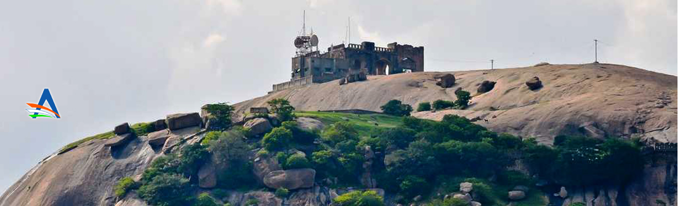 The magnificent Bhongir Fort awaits you at Nalgonda