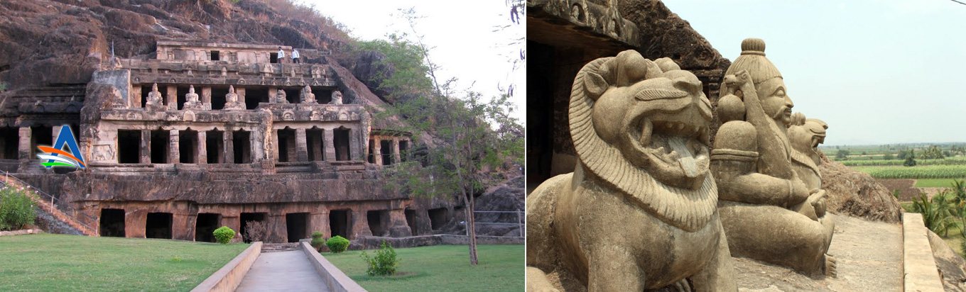 Visit Undavalli for witnessing nature's beauty and the mesmerising caves