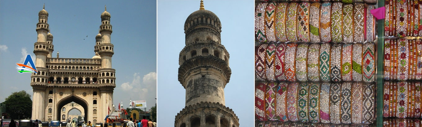 Visit one of the most famous landmarks of Hyderabad Charminar
