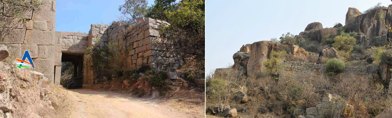 Witness the Rachakonda fort near Nalagonda district in Telangana